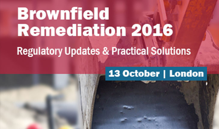 Brownfield Briefing <br>13th October 2016